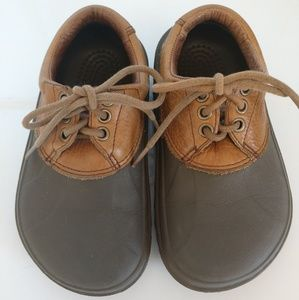CROCS Axel all terrain Duck leather lace up shoes